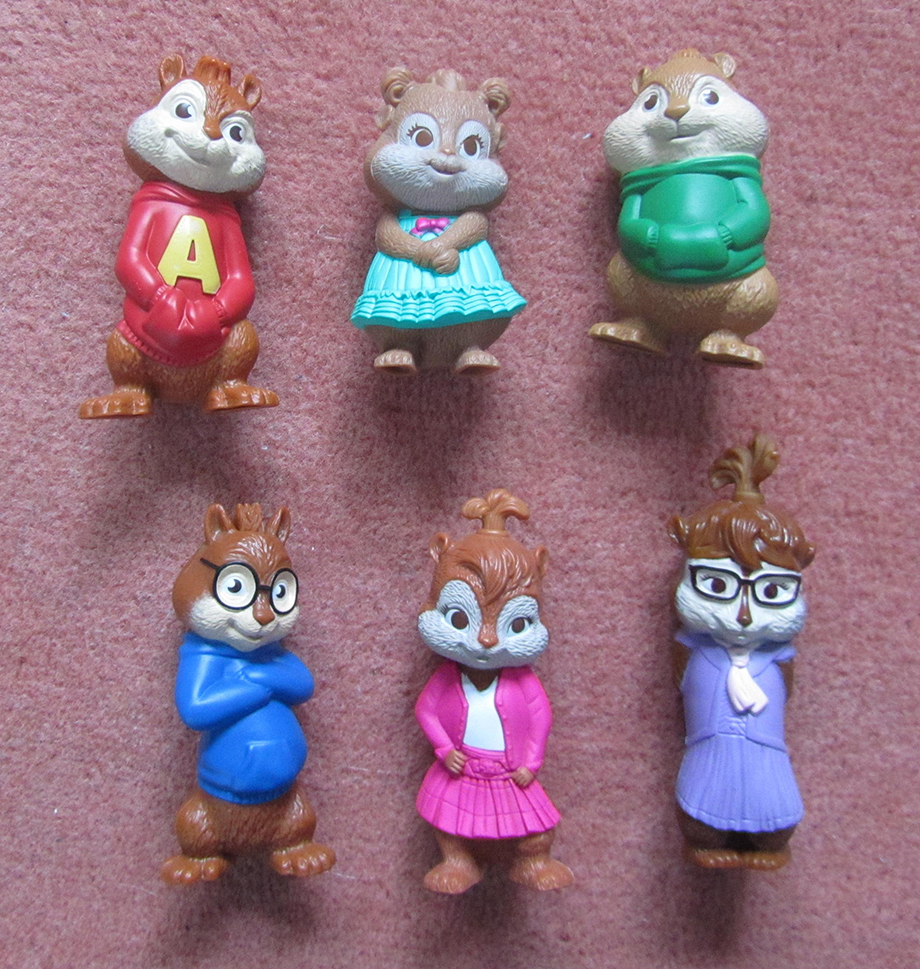 Mcdonalds Alvin And The Chipmunks The Squeakquel Toys Toywalls