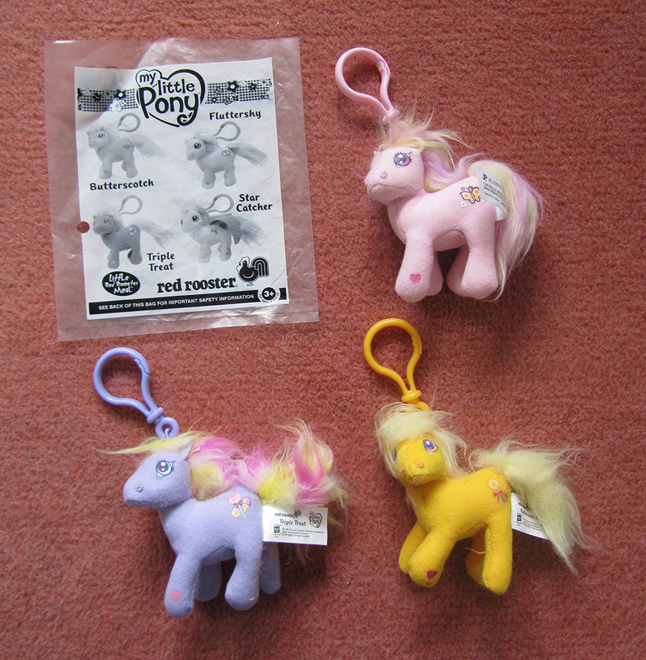 My Little Pony Toy Food : Mcdonald s